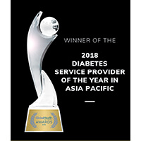2018 Diabetes service provider of the year awards winner
