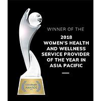 Accredation awards winner 2018 women health wellness service provider